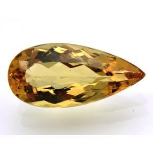 通常のトパーズより(OH)が多い ブラジル産/ 3.08ct 14.5x6.8x4.3mm/ 宝石名...