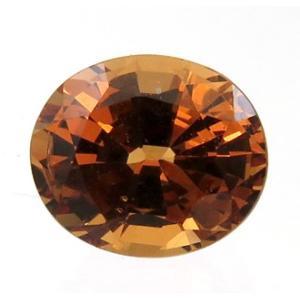 15124 マダガスカルマラヤガーネット 1.66ct タンザニア産と色合いが異なるのでこう呼ばれる : 瑞浪鉱物展示館 【送料無料】 mm-museum