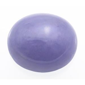 15143【上級品】ラベンダーヒスイ 20.27ct 色むらの少ない高彩度の淡青紫 ミャンマー産 : 瑞浪鉱物展示館 【送料無料】|mm-museum