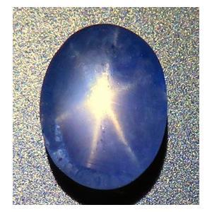 15217【特価】 ブルースターサファイア ルース 3.03ct 青色 スリランカ産 : 瑞浪鉱物展示館 【送料無料】 mm-museum