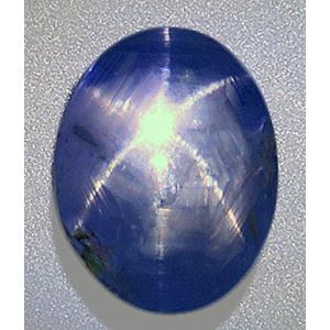 15355 ブルースターサファイア ルース 8.90ct 青色 スリランカ産 非加熱 【非加熱鑑別】 瑞浪鉱物展示館 【送料無料】 mm-museum