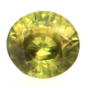 15897【値打ち】 イエロースフェン 1.73ct クサビ石 赤や緑の強い輝き インド産 : 瑞浪鉱物展示館 【送料無料】|mm-museum