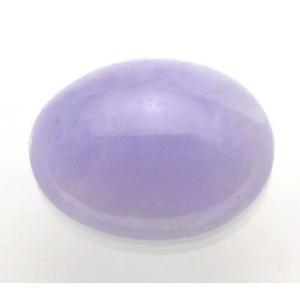 16089【値打ち】 ラベンダーヒスイ ルース 4.86ct 高彩度の淡青紫 ミャンマー産 : 瑞浪鉱物展示館 【送料無料】|mm-museum