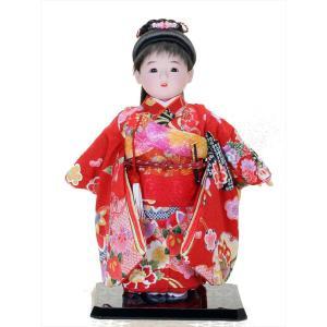 市松人形 日本人形 美しいきもの人形  10号 10-56p