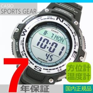 【7年保証】カシオ メンズ腕時計 SPORTS GEAR  方位計・温度計機能付 男性用 品番:SGW-100J-1JF mmco