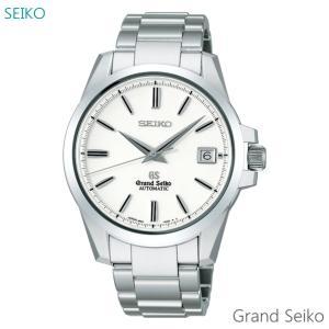 【7年保証】 グランドセイコー 旧ロゴ メンズ腕時計 オートマチック 品番:SBGR055 国内正規品 拭き布(クロス)付|mmco