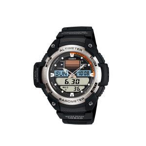 【7年保証】カシオ SPORTS GEAR メンズ腕時計 圧力と温度センサーを搭載 男性用  品番:SGW-400H-1BJF mmco