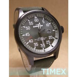 【7年保証】TIMEX(タイメックス)メンズ 男性用腕時計 エクスペディション ミリタリーフィールド 【T49877】国内正規品)|mmco