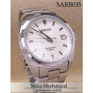 【7年保証】送料無料!セイコーメカニカル メンズ 男性用腕時計 オートマチック(自動巻き) 【SARB035】 (国内正規品)【02P27Sep14】|mmco