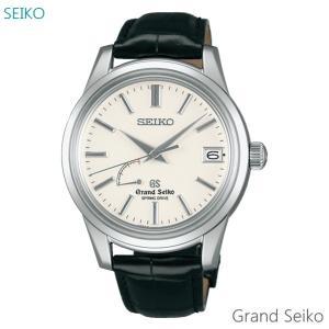 【7年保証】グランドセイコー 旧ロゴ メンズ腕時計 男性用 スプリングドライブ 品番:SBGA093 国内正規品  拭き布(クロス)付|mmco