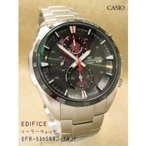 【7年保証】送料無料!カシオ メンズ 男性用ソーラー腕時計 EDIFICE!【EFR-530SBBJ-1AJF】 (国内正規品)|mmco