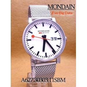 【7年保証】送料無料!モンディーン メンズ 男性用腕時計  エヴォ ビッグデイト 40mm 【A627.30303.11SBM】 (国内正規品) mmco