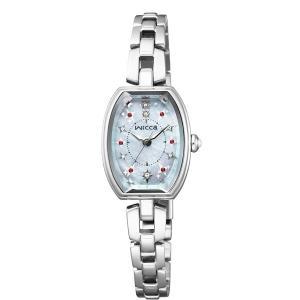 【7年保証】シチズン ウィッカ レディース 女性用   ソーラー腕時計  【KF3-010-93】(国内正規品)|mmco