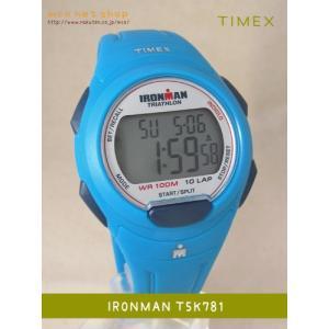 【7年保証】タイメックス 腕時計  IRONMAN 10-LAP  MIDSIZE 【T5K781】(国内正規品)|mmco