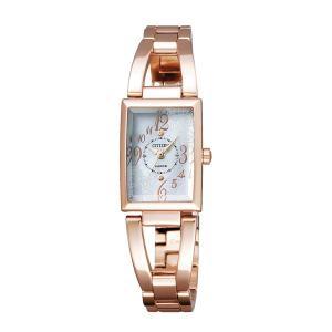 【7年保証】シチズン(CITIZEN)レディース 女性用   ソーラーテック腕時計 ウィッカ(wicca) 【NA15-1563B】(国内正規品)|mmco