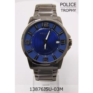 【7年保証】♪ポリス(POLICE) TROPHY メンズ 男性用腕時計 【13876JSU-03M】(国内正規品)|mmco
