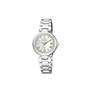 【7年保証】シチズン クロスシー 電波ソーラー レディース 女性用  腕時計 【EC1035-56W】(国内正規品) HAPPY FLIGHT|mmco