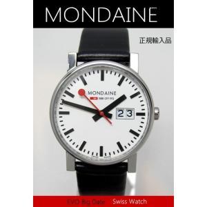 【7年保証】モンディーン メンズ 男性用腕時計 エヴォ メンズ 男性用ビッグデイト 【A669.30300.11SBB】 (正規輸入品) mmco