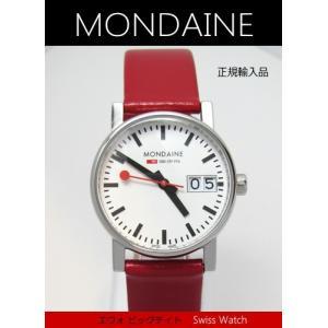 【7年保証】モンディーン腕時計 エヴォ  ビッグデイト レディース 女性用   30mm〔A669.30305.11SBC〕 (国内正規品) mmco
