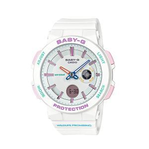 レディース 腕時計 7年保証 カシオ BABY-G BA-255WLP-7AJR 正規品 WILDLIFE PROMISINGコラボ|mmco