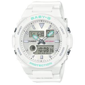 レディース 腕時計 7年保証 カシオ BABY-G G-LIDE BAX-100-7AJF 正規品|mmco