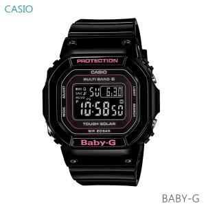レディース 腕時計 7年保証 カシオ BABY-G ソーラー 電波 BGD-5000-1JF 正規品|mmco
