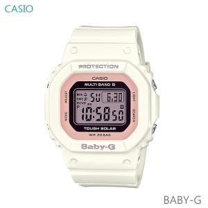 レディース 腕時計 7年保証 カシオ BABY-G ソーラー 電波 BGD-5000-7DJF 正規品 CASIO|mmco