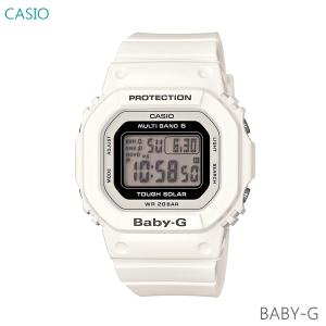 レディース 腕時計 7年保証 カシオ BABY-G ソーラー 電波 BGD-5000-7JF 正規品|mmco