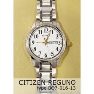 【7年保証】シチズン メンズ 男性用腕時計 レグノ  【BQ7-016-13】(国内正規品)|mmco