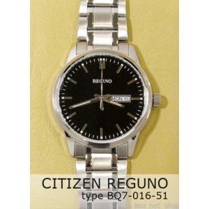 【7年保証】シチズン メンズ 男性用腕時計 レグノ  【BQ7-016-51】(国内正規品)|mmco