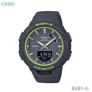 レディース 腕時計 7年保証 カシオ BABY-G G-SQUAD BSA-B100SC-1AJF 正規品 モバイルリンク機能|mmco