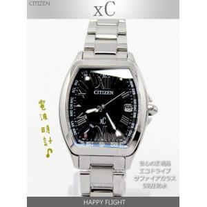 【7年保証】シチズン クロスシー ハッピーフライト レディース 女性用  エコ・ドライブ電波腕時計 【EC1100-56E】 (国内正規品) xC  HAPPY FLIGHT|mmco