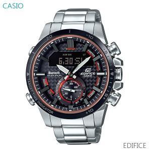 メンズ 腕時計 7年保証 送料無料 カシオ エディフィス ソーラー ECB-800DB-1AJF 正規品 EDIFICE|mmco