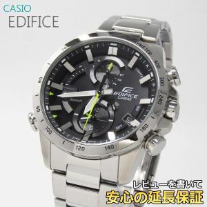 【7年保証】   カシオ エディフィス メンズ ソーラー腕時計 モバイルリンク 品番:EQB-900D-1AJF|mmco