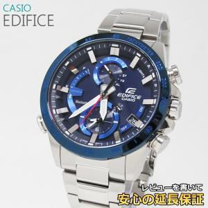 【7年保証】   カシオ エディフィス メンズ ソーラー腕時計 モバイルリンク 品番:EQB-900DB-2AJF|mmco