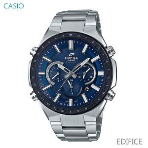 メンズ 腕時計 7年保証 送料無料 カシオ エディフィス ソーラー 電波 EQW-T660DB-2AJF 正規品 EDIFICE|mmco