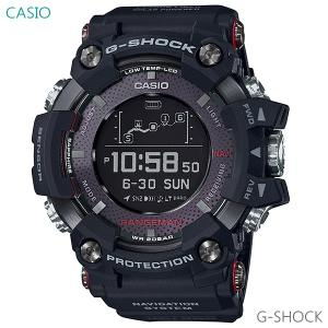 メンズ 腕時計 7年保証 送料無料 カシオ G-SHOCK レンジマン GPS電波 ソーラー GPR-B1000-1JR 正規品 RANGEMAN GPSナビゲーション|mmco