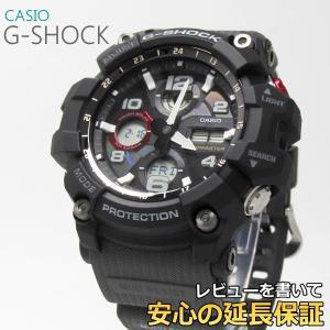【7年保証】 ♪ CASIO G-SHOCK MUDMASTER メンズ ソーラー電波腕時計 【GWG-100-1A8JF】 (正規品) マッドマスター|mmco