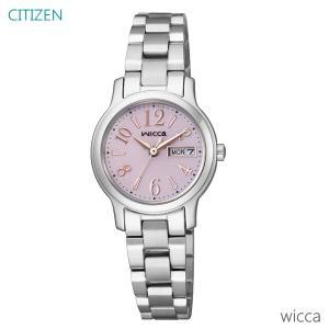 レディース 腕時計 7年保証 シチズン ウィッカ ソーラー KH3-410-91 正規品 CITIZEN wicca|mmco