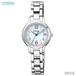 レディース 腕時計 7年保証 シチズン ウィッカ ソーラー KH4-912-11 正規品 CITIZEN wicca|mmco