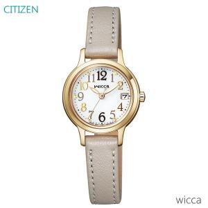 レディース 腕時計 7年保証 シチズン ウィッカ ソーラー KH4-921-10 正規品 CITIZEN wicca|mmco
