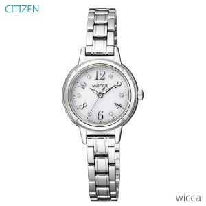 レディース 腕時計 7年保証 シチズン ウィッカ ソーラー KH9-914-15 正規品 CITIZEN wicca|mmco