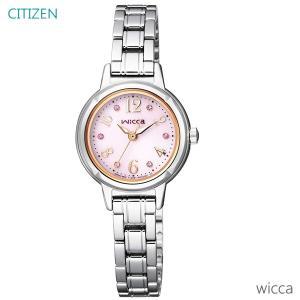 レディース 腕時計 7年保証 シチズン ウィッカ ソーラー KH9-914-93 正規品 CITIZEN wicca|mmco