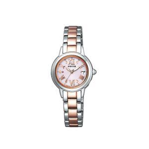 【7年保証】シチズン(CITIZEN)レディース 女性用  ソーラーテック電波腕時計 ウィッカ(wicca) 【KL0-014-99】(国内正規品)|mmco