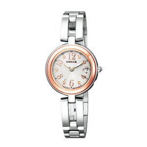 【7年保証】シチズン(CITIZEN)レディース 女性用  ソーラーテック電波腕時計 ウィッカ(wicca) 【KL0-219-11】(国内正規品)|mmco