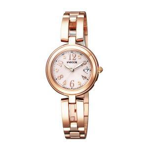 【7年保証】シチズン(CITIZEN)レディース 女性用  ソーラーテック電波腕時計 ウィッカ(wicca) 【KL0-260-91】(国内正規品)|mmco