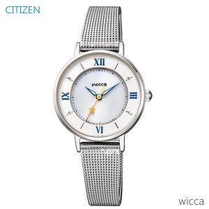 レディース 腕時計 7年保証 シチズン ウィッカ ソーラー KP3-465-11 正規品 CITIZEN wicca|mmco