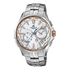 【7年保証】カシオ オシアナス マンタ  メンズ 男性用ソーラー電波腕時計 マルチバンド6  【OCW-S3400E-7AJF】(国内正規品)|mmco