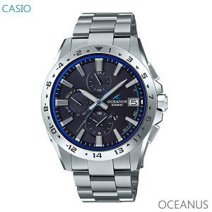 メンズ 腕時計 7年保証 送料無料 カシオ オシアナス ソーラー 電波 OCW-T3000-2AJF 正規品 CASIO OCEANUS|mmco