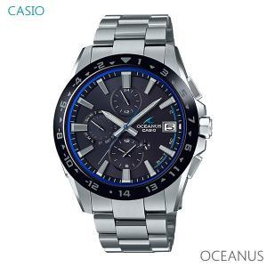 メンズ 腕時計 7年保証 送料無料 カシオ オシアナス ソーラー 電波 OCW-T3000A-1AJF 正規品 OCEANUS Classic Line|mmco